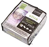 Kushies Trial Pack Reusable Ultra Diapers for Infants, Colors May Vary