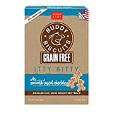 Cloud Star Grain Free Itty Bitty Buddy Biscuits in a Bag, 7-Ounce , Smooth Aged Cheddar