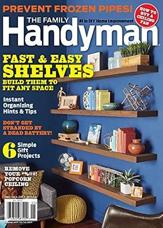 the family handyman inc reader 39 s digest association kindle store. Black Bedroom Furniture Sets. Home Design Ideas