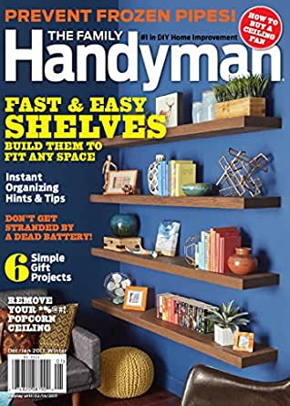 The family handyman magazines for Handyman cost estimator software