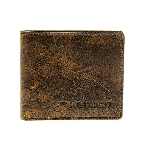 c38af3c2aa1da Barmah Kangaroo Leather 2 Fold Wallet - Hickorystone - TOP SELLER ...