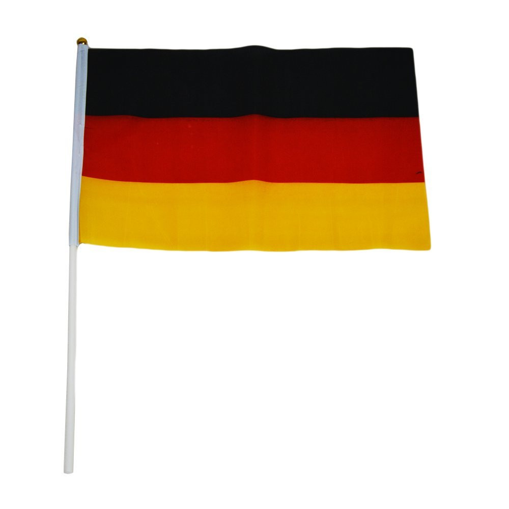 football flags germany football hand waving flags party toy