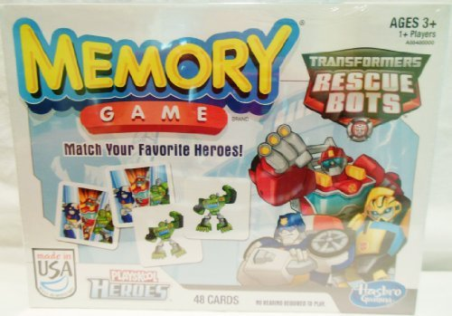 Transformers Rescue Bots Memory Game -
