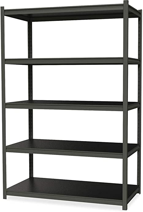 Hirsh Industries 3 200 Lb Capacity Iron Horse Shelving 5 Compartment S 72 Height X 36 Width X 18 Depth 20996 Office Products