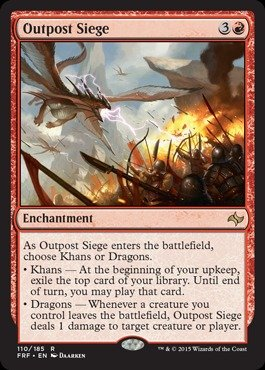 Magic: the Gathering - Outpost Siege - Fate Reforged