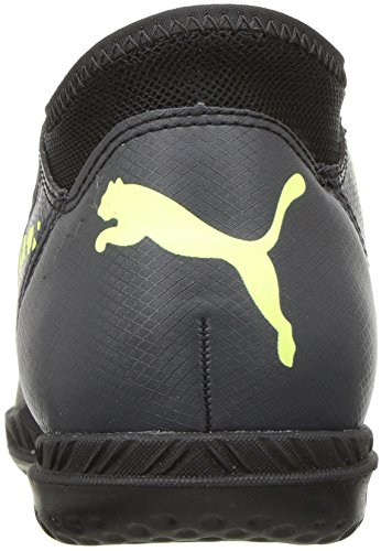 Puma Kids Future 18.4 ES Schuhe Puma Black/Fizzy Yellow/Asphalt