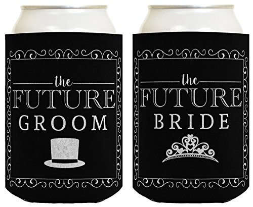 bride and groom can coolers - 9