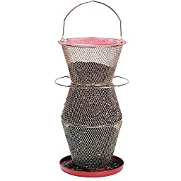 No/No RB300334 Red and Brass Standard 3 Tier Feeder