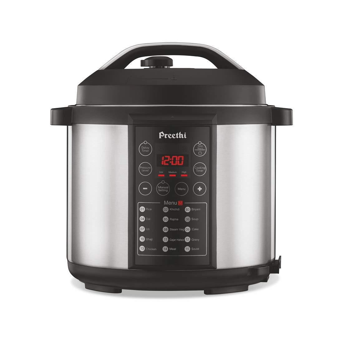 Preethi Touch EPC005 6-Liter Electric Pressure Cooker