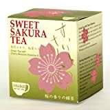 1 X Sweet cherry tea (tea bag 2g×10P) Sakura green Tea