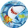 Ocean Shark Dinner Plates, 8ct