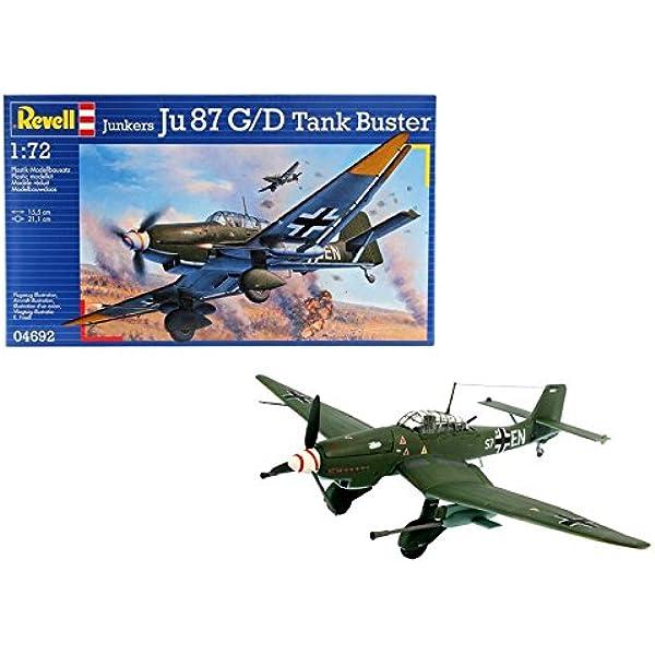 Revell 4692 - Maqueta de Junkers Ju 87 G / D Tank Buster [Importado de Alemania]: Amazon.es: Juguetes y juegos