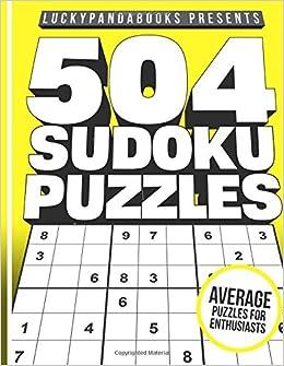 504 sudoku puzzles medium sudoku puzzle book for advanced puzzle