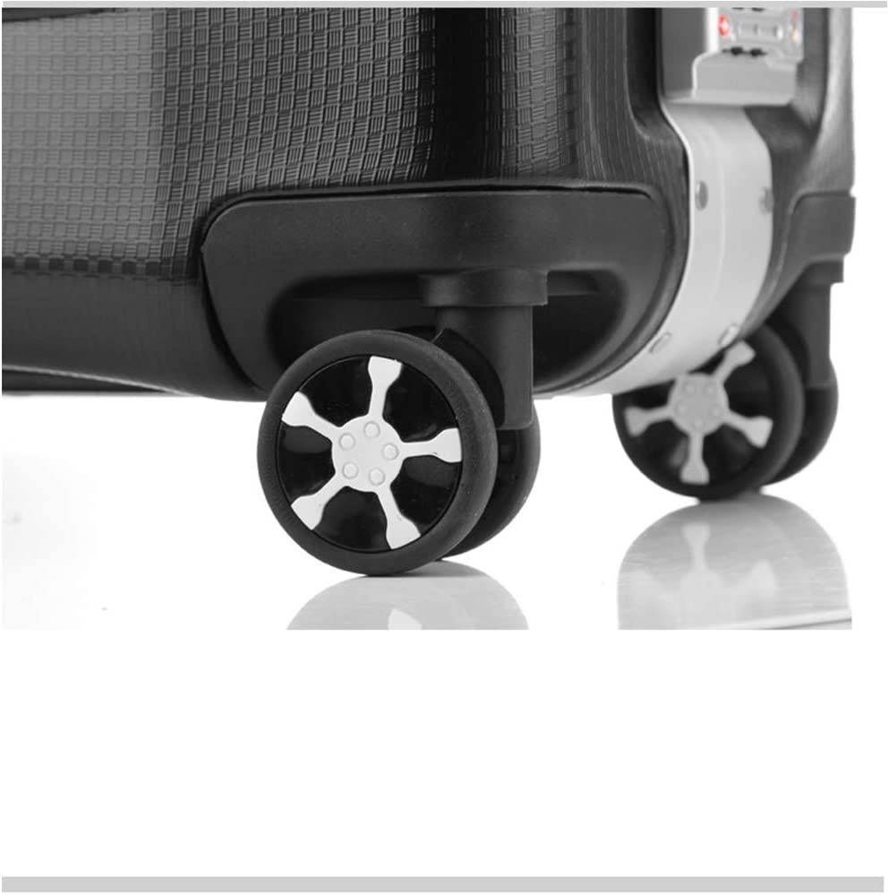 Suitcases 20 inch Aluminum Magnesium Frame Silent Universal Wheel Luggage,Built-in TSA Lock Boarding The Chassis