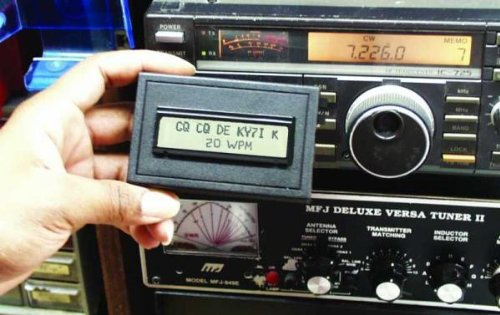 MFJ-461 MFJ461 Original MFJ Enterprises Pocket Morse Code Reader