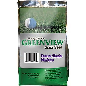 GreenView Fairway Formula Grass Seed Dense Shade Mixture, 10 lb Bag