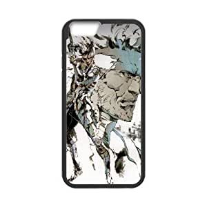 iPhone6 Plus 5.5 inch Phone Case Black Snake Metal Gear Solid Game WE1TY713530