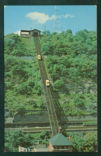 Mt. Washington PITTSBURGH PA Incline Cable Railway Railroad - Washington To Pa Pittsburgh