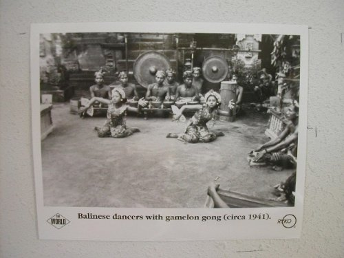 Balinese Dancers with Gamelong Gong Press Kit Photo The (Balinese Gong)