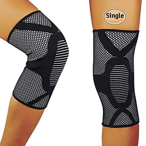 HOFAM Knee Brace Compression, Breathable Knee S...