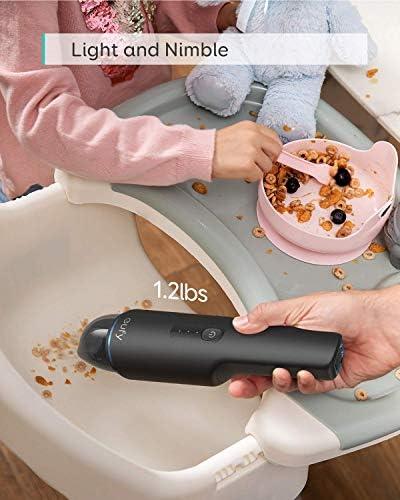 N/V Aspirateur À Main sans Fil, Ultra-léger 1,2 LB, Puissance D\'aspiration 5500pa, Chargement USB, pour Le Nettoyage De L\'ordinateur À La Maison
