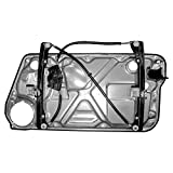 2006 beetle door panel - Drivers Front Power Window Lift Regulator with Interior Door Panel Replacement for Volkswagen 1C0837655C