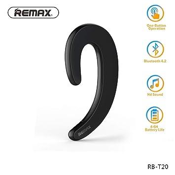 Remax Non Bouchons Doreille Bluetooth Casque Sans Fil Avec Micro