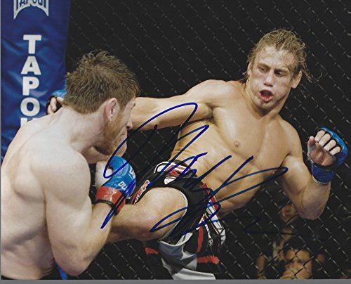 Autographed Mike Brown UFC & MMA 8x10 photo with COA