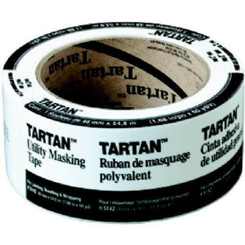3M Tartan Masking Tape 1.88-Inch by 60-Yard (Tartan 200 Masking Tape)