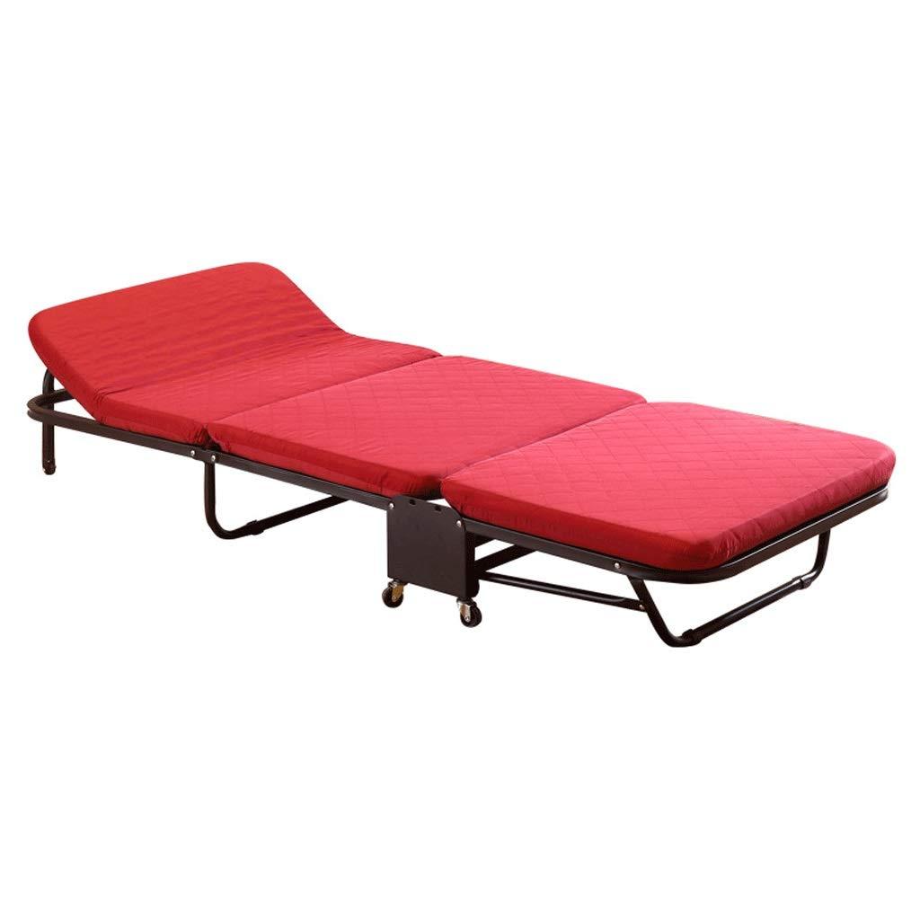 CHX Klappbett Mittagspause Einzelbett Siesta Bed Office Klappbett Geteiltes Begleitbett (Size : 90cm Wide)
