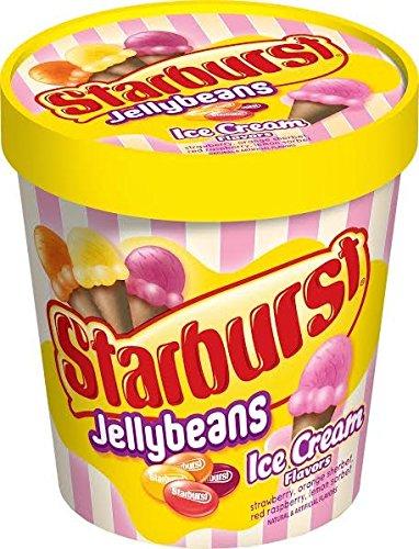 Starburst Jelly Beans Ice Cream Flavors 9oz