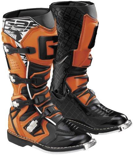 Gaerne G React Boots , Size: 10, Distinct Name: Orange, Primary Color: Orange, Gender: Mens/Unisex XF45-5387 from Gaerne