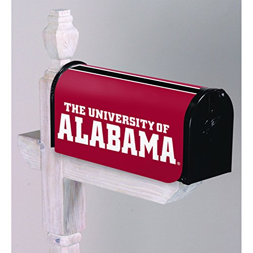 Cover Mailbox Team (Team Sports America University of Alabama Applique Mailbox Cover)