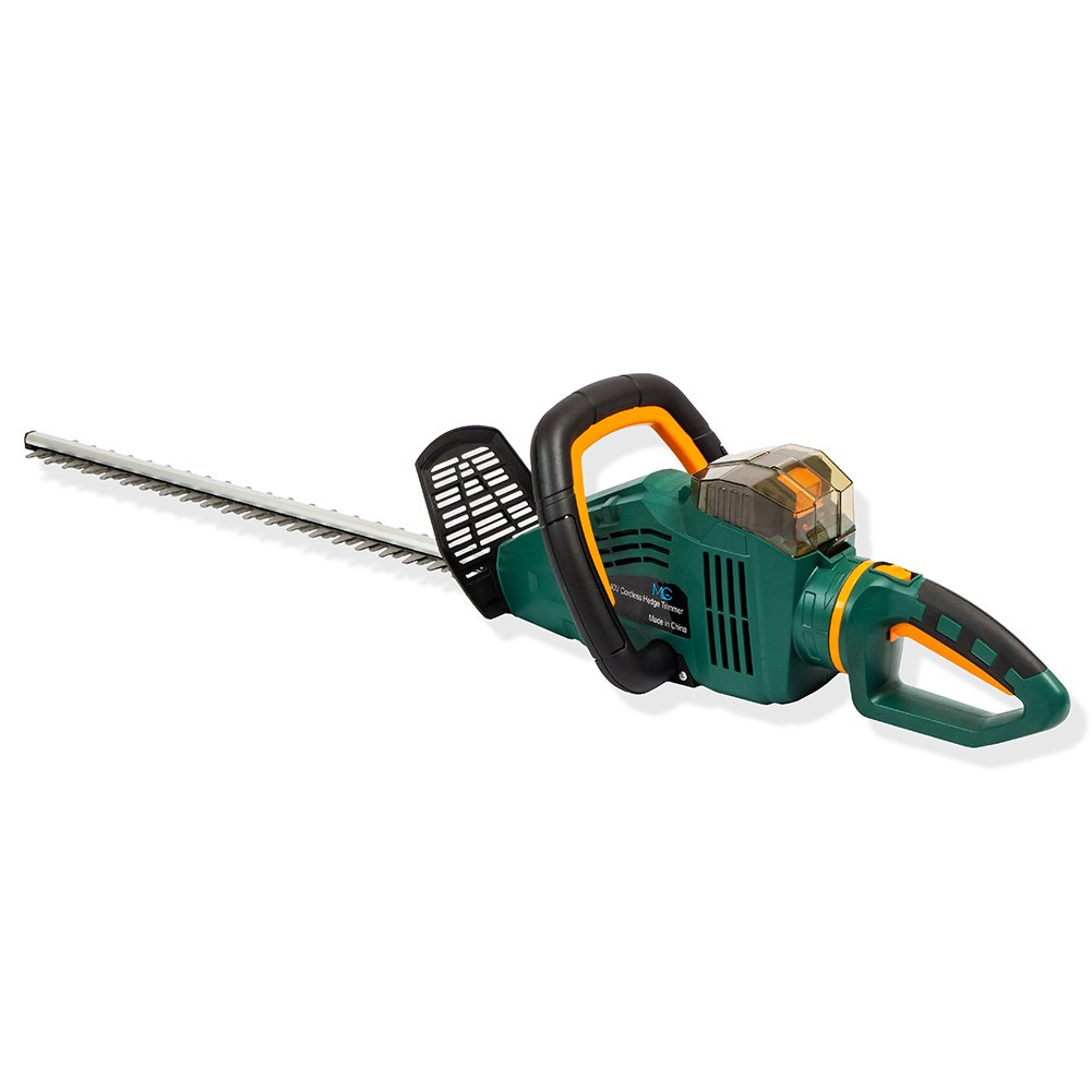 """MLG Tools ET1605 40V MAX 4.0 Ah Lithium Ion Cordless Hedge Trimmer, 24"""", Battery and Charger Included"""