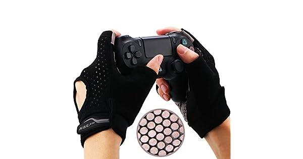 Amazon.com: yorha Gaming guantes, agarre de silicona ...