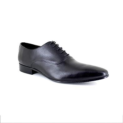 01d1d073a68 J.BRADFORD Richelieu Cuir Noir JB-Berlin  Amazon.fr  Chaussures et Sacs