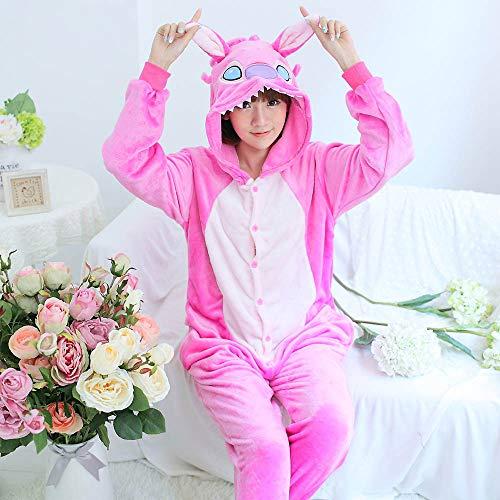Una De Pink Conjuntos Unicornio Traje Todo Invierno Stitch Mujer En Onesies Pijamas Dormir Pieza Animales Jylw Cosplay Ropa vSRwUa