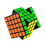 Rubik's Cube, Magic Speed Cube, Amazing Stress Reliever Cube Game, Easy Turning and Smooth Play Puzzle Toy (5x5 Black)