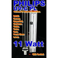 Philips - Bombilla PL (11 W, UV-C, 236