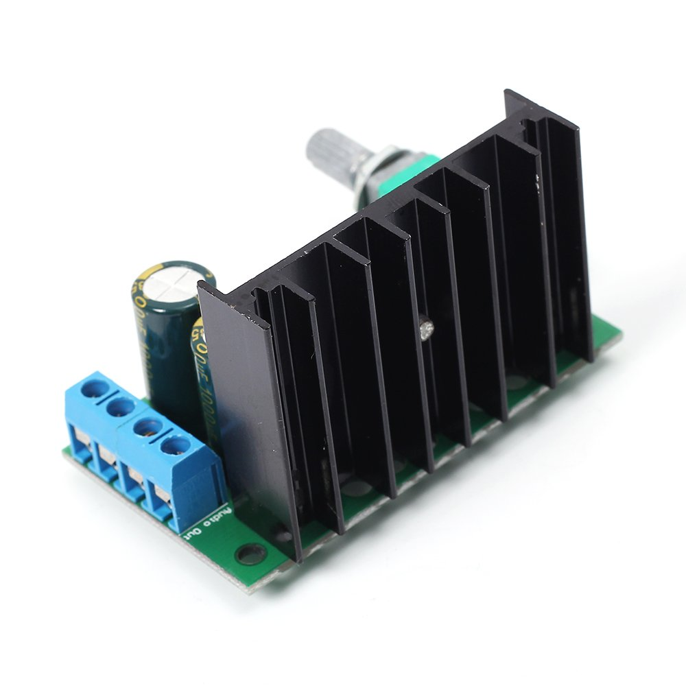 Icstation Tda2050 25w Mini Mono Digital Audio Amplifier Figure 3 Diy Hifi Schematic Power Amp Board With Volume Adjustable Knob
