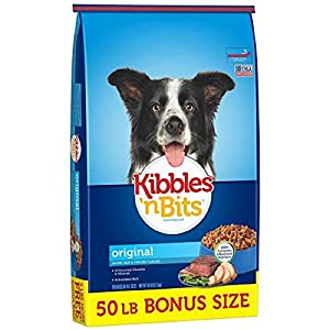 Kibbles 'n Bits Original Savory Beef & Chicken Flavors Dry Dog Food (50 Lb - 1 Bag)