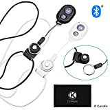 2x CamKix Camera Shutter Remote Control With Bluetooth® Wireless Technology - Black +