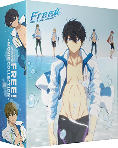 (Free! Movie Collection: High Speed! & Timeless Medley & Take Your Marks [Blu-ray])