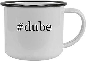 #dube - 12oz Hashtag Camping Mug Stainless Steel, Black