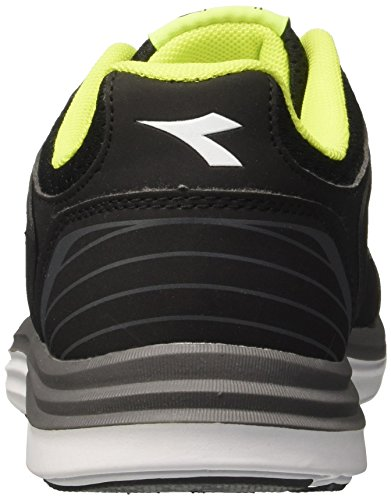 Diadora Heron 2, Chaussures de Running Homme Noir (Nerogrigio Acciaio)