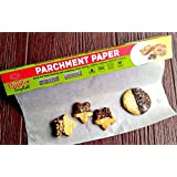 Baking Paper. FDA Approved - Sturdy Box with Sharp Cutter. 42 sq ft - 15''X33 ft.