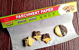 Non Stick Parchment Paper With Sturdy Box And Sharp Cutter.