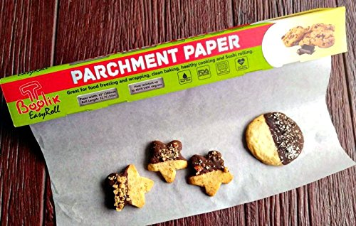 Non Stick Parchment Paper With Sturdy Box And Sharp Cutter. by Boolik Easyroll