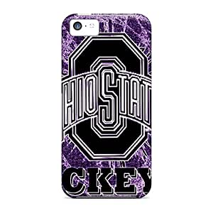 BlingCase Perfect Tpu Case For Iphone 5c/ Anti-scratch Protector Case (ohio State)