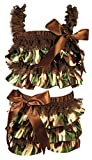 Stephan Baby Ruffled Flapper Top and Diaper Cover, Camo Print, 6-12 Months by Stephan Baby